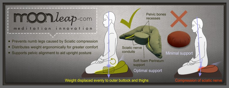 Moonleap meditation cushion