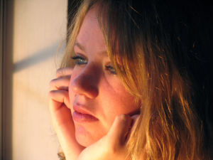 pensive woman2