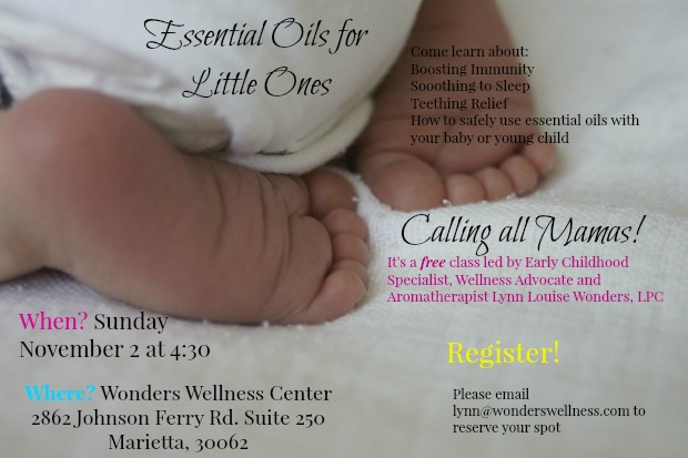 Free Class! Essential Oils for Mamas of Little Ones