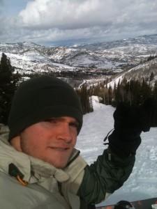 Patrick snow boarding