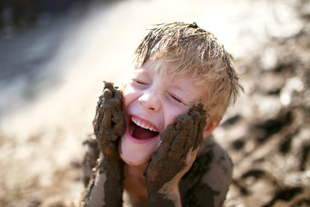 Why Messy Play is Healthy for Children