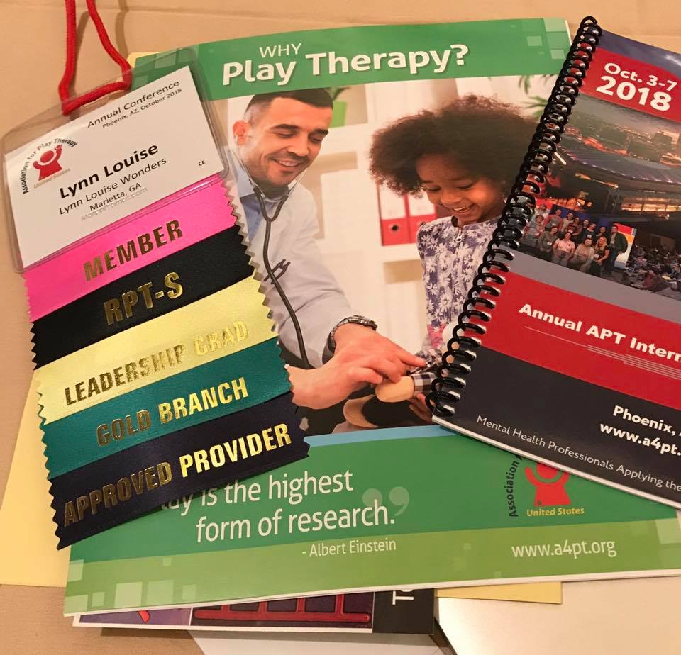 Grow Your Play Therapy Practice: 5 Reasons to Attend the APT Play Therapy Conference in 2019