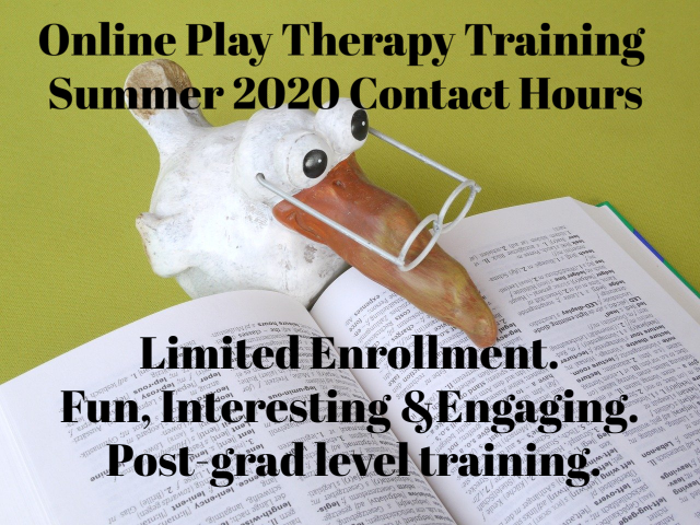 online play therapy training